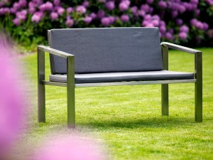 Gartenbank 2-sitzig KG 40 - de greiff design
